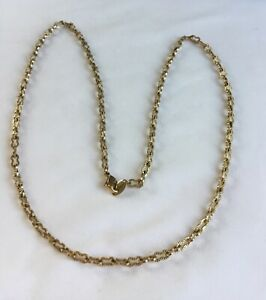 Vintage Gold toned Chain Necklace