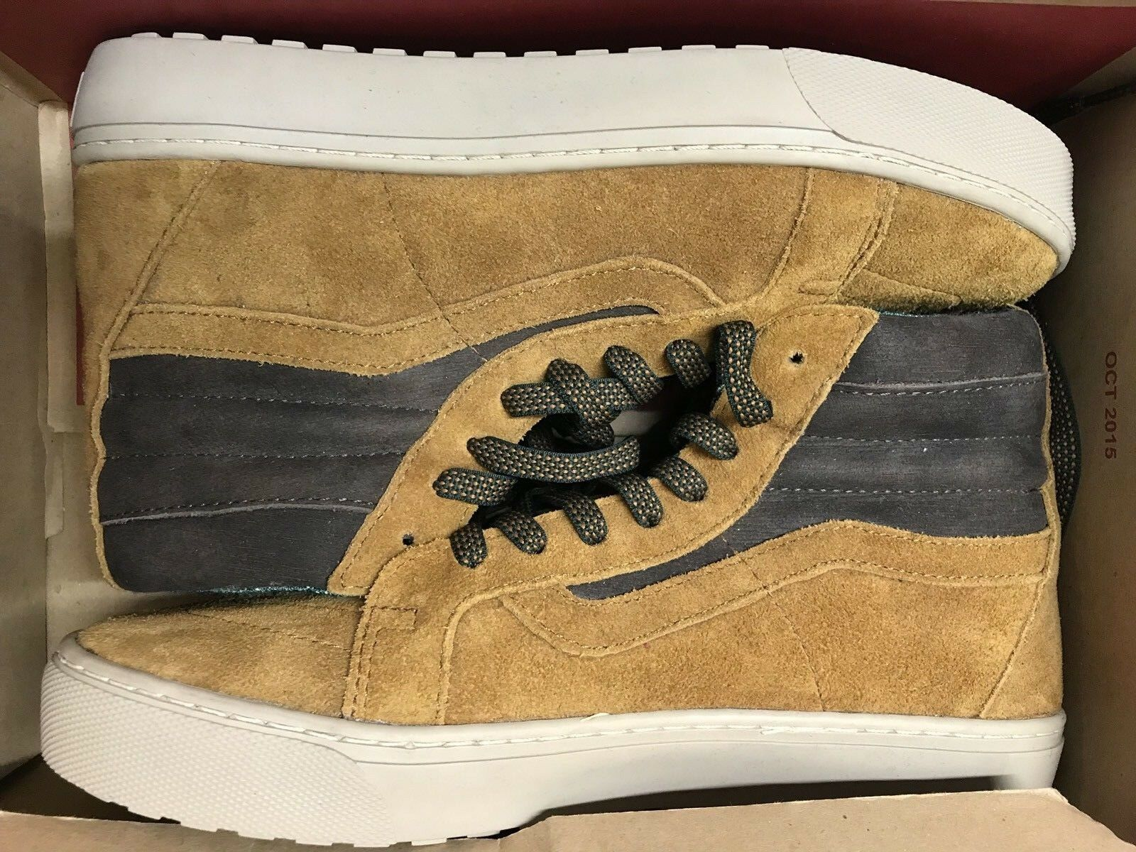 Vans Sk8 Hi MTE Cup Cathay Hummus Leather Suede Boots