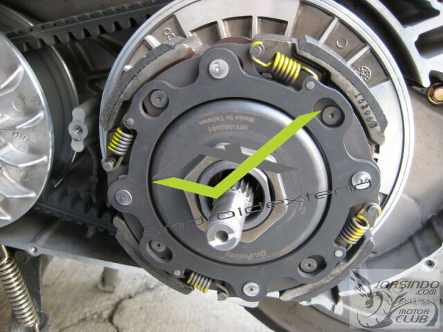 KYMCO MY ROAD 700 DR.PULLEY HIGH PERFORM.CVT HiT CLUTCH