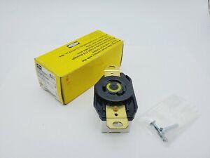 Hubbell Twist Lock Receptacle HBL2310 20A 125vac
