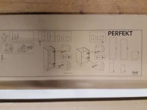 Details zu IKEA Perfekt Deckseite 195cm in weiß 143.027.10 - Küche