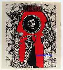 """ROCK AND ROLL """"MISFITS"""" """"GATES OF HELL""""AUTHENTIC VINTAGE 80's CONCERT STICKER"""