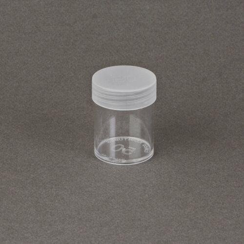 Edgar Marcus Brand Round Clear Plastic Size Coin Storage 5 Half Dollars