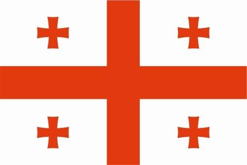 La Géorgie lfd0057 des autocollants sticker drapeau drapeau pays