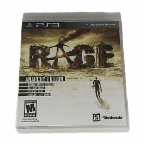 Rage Anarchy Edition (Sony PlayStation 3, 2011) Complete w/Manual