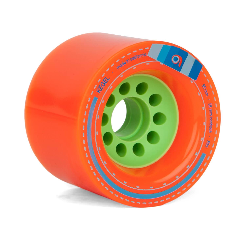 Orangatang Kegel Longboard Wheels orange 3 5 32in 80a - Large Fast Wheels