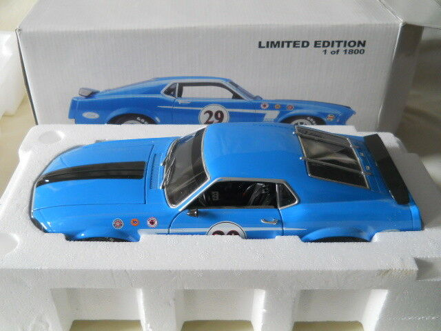 Welly 1969 Ford Mustang Trans-Am Limited Edition 1 of 1800 1 18 Diecast