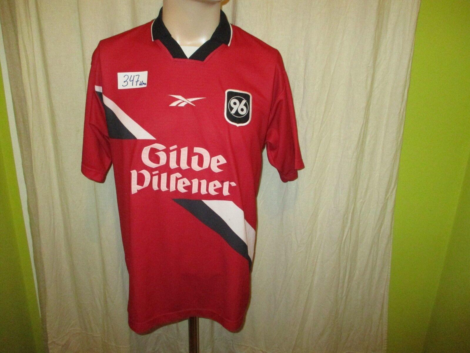 Hannover 96 Original Reebok Heim Trikot 1998/99