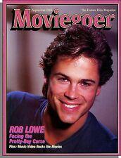 Moviegoer - 1984, September - Rob Lowe, Starman, Music Video Movies