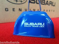 NEW Subaru RALLY TEAM USA CowBell - YOU Need More Cowbell - USA SELLER