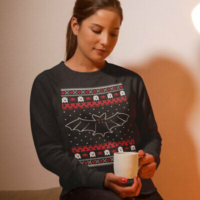 Cool Gothic Bats Ugly Christmas Sweater T-Shirt Gift