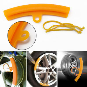 Orange Car Tire Changer Protector 5x Car Tire Changer Guard Rim Protector Tyre Wheel Changing Edge Savers Tool