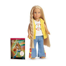 NWT American Girl Mini Doll and Book Julie 2014 NEW