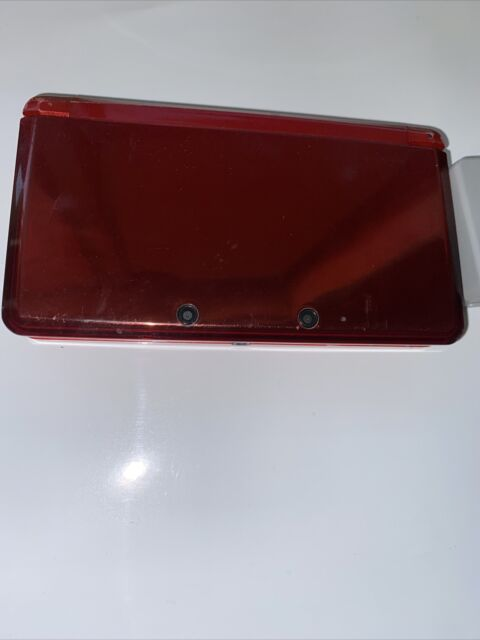 Mario/ Nintendo 3DS Handheld System - Flame Red / Mario