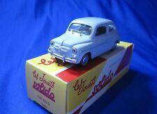 AC191 SOLIDO HACHETTE FIAT 600 D 1963 1/43 EN BOITE