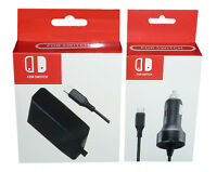 Quality Home And Car Power Adapter Charger Kit For Nintendo Switch Console