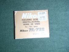 Nikon Focusing Screen FA-FE2 Type E2