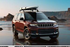 Authentic MOPAR 2021 Jeep Grand Cherokee L Cross Bars 82216036AB