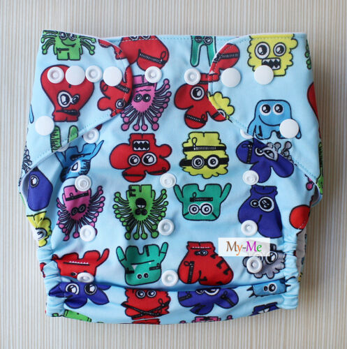 Hip Snap Baby One Size Cloth Diaper Reusable Pocket Nappy Newborn Adjustable
