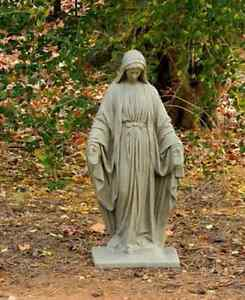 Image Is Loading Virgin Mary Statue 34 Inch Statuary Garden Decor