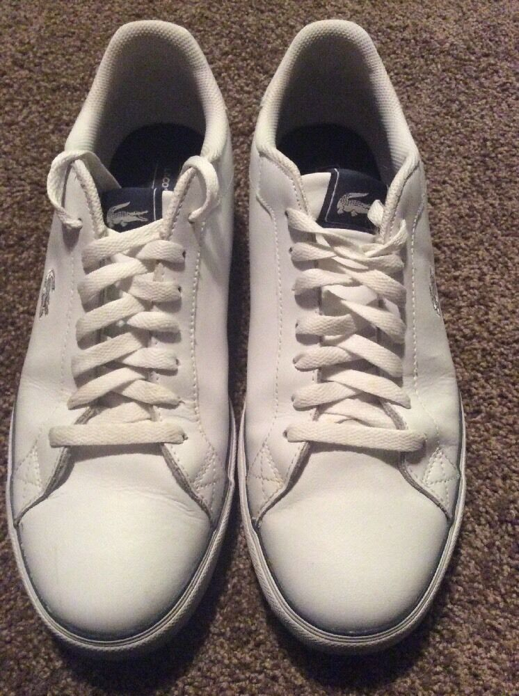 LACOSTE Marling White Sneakers Men's shoes Size 11