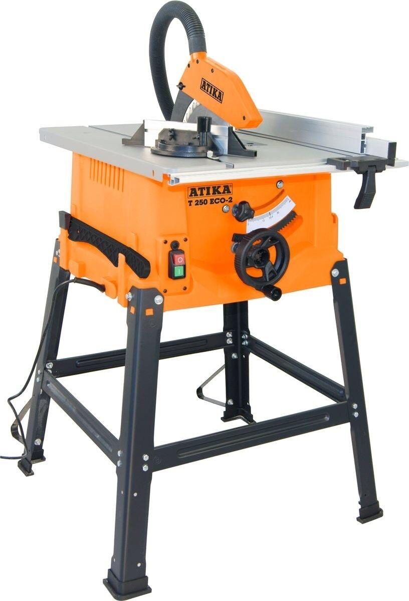Tischkreissäge ATIKA T 250 ECO-2 kompakte vielseitige Montagekreissäge TOP-Preis