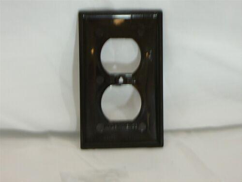 50 PACK BROWN 1-Gang Duplex Recept Wallplate Eaton//Cooper 5132B Standard Size