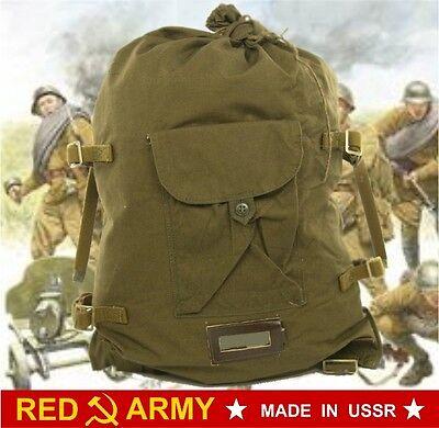☆ DUFFEL BAG BACKPACK ARMY USSR WW II Soviet Russian Red Army Soldier VESHMESHOK