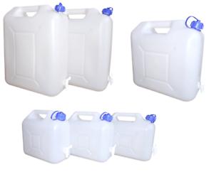 Wasserkanister PRO 20 Liter mit Hahn NEU Trinkwasser-Kanister Camping Wassertank