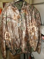 W/tags Redhead Essentials Realtree Xtra Camo Insulated Hooded Jacket Sz Lg