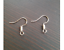 10x Silver Gold or Red Copper Earring Hook Hooks Coil Posts Backs Findings NEW