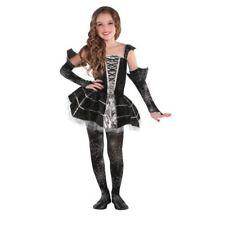 Girls Midnight Mischief Halloween Spider Costume Fancy Dress Outfit  sc 1 st  eBay & Girls Midnight Mischief Gothic Spider Tutu Halloween Fancy Dress ...