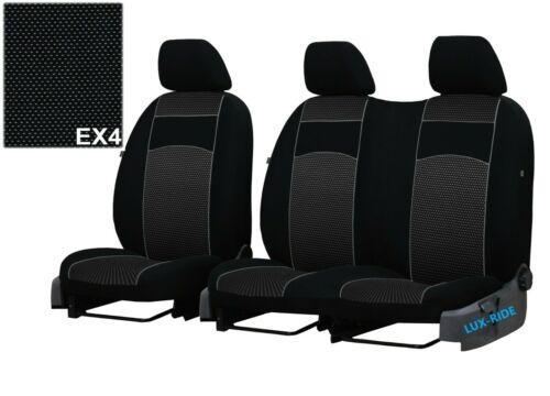 MERCEDES SPRINTER Mk3 2018-2021 UPHOLSTERY FABRIC TAILORED FRONT SEAT COVERS