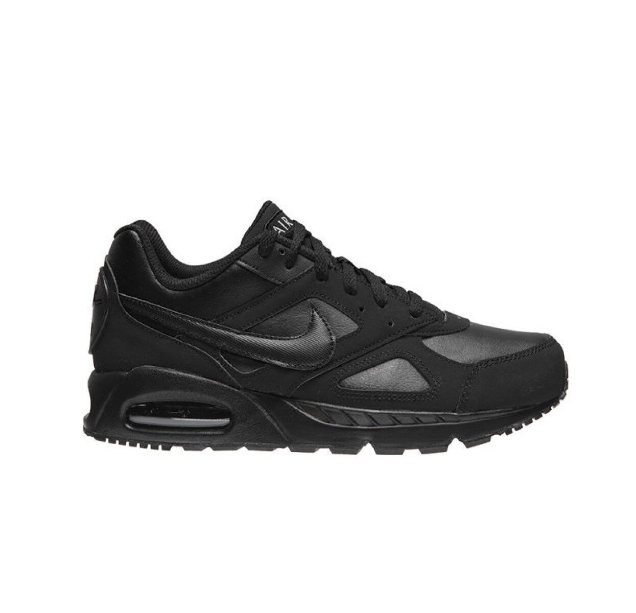 NIKE AIR MAX IVO RUNNING TRAINER SHOE BLACK RRP  -  NEW