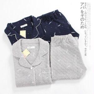 giapponese termico notte in Yukata da Pigiama da pigiama trapuntato imbottito con cotone uomo qPvawR