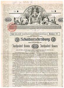 Investitions-Anlehen-der-Stadt-Wien-1902-200-Kronen-ungelocht