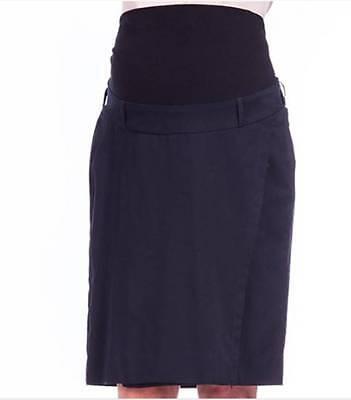 GemäßIgt Bnwt Maternity Corporate Skirt Black Size 8 - 22 Um Der Bequemlichkeit Des Volkes Zu Entsprechen