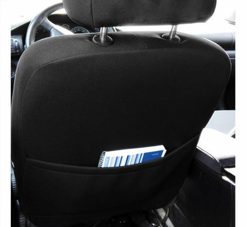 Eco-Leather Alicante Seat Covers FORD TRANSIT CUSTOM DOUBLE CAB 2017 2018 2019