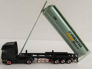 DAF-XF-e6-SZ-H-amigo-1-87-h0-Herpa-305983-Silo-remolcarse