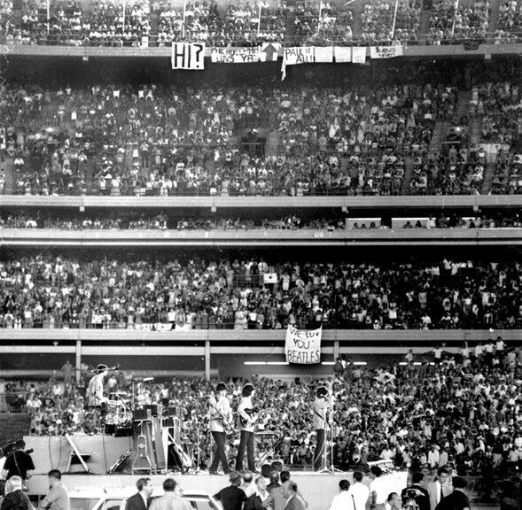 "The Beatles Shea Stadium 12 x 12"" Photo Print"