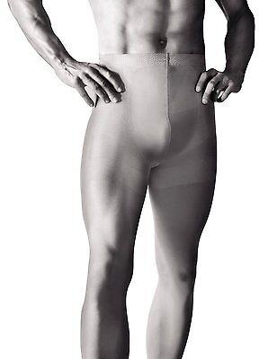 Active Mens Tights Black, Grey S-XL Hosiery Underwear by Knittex