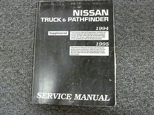 1994 1995 Nissan Pickup Truck Shop Service Electrical Wiring Diagram Manual D21 Ebay