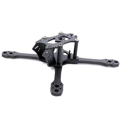JMT Razer140 140MM 3K Carbon Fiber Frame Kit For mini F4//F3 FC 1304-1508 Motor