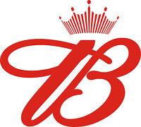 Budweiser Vinyl Sticker Decal 6 (red B)