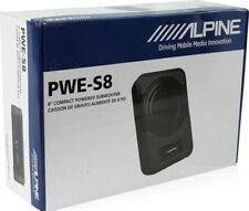 Alpine PWE-S8 1-Way 8in. Car Subwoofer