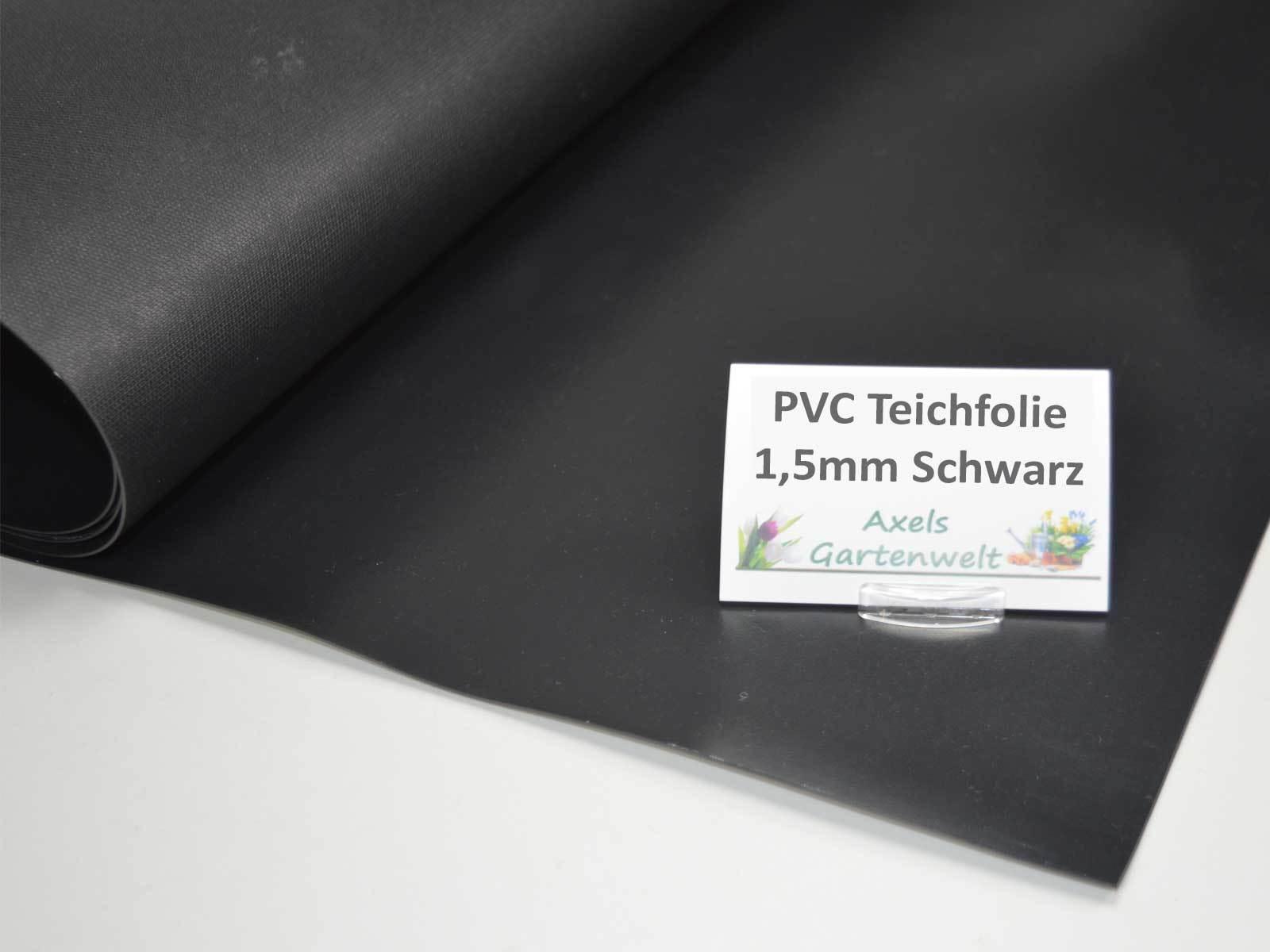 m² Teichfolie Schwarz 1,5mm Profi 10x9 m Teich Folie Gartenteichfolie 9x10