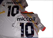 2 maglia shirt's lecce nr 10 + 10 new nuove miccoli legea