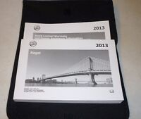 2013 Buick Regal Owners Manual Set Guide 13 W/case