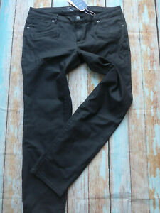 Tom-Tailor-Jeans-Pants-Coated-Black-Size-Inch-Size-34-to-36-plus-Size-261