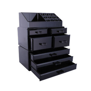 Cosmetic-Organizer-Makeup-Display-Storage-Case-Spinning-Rack-Gifts-Acrylic